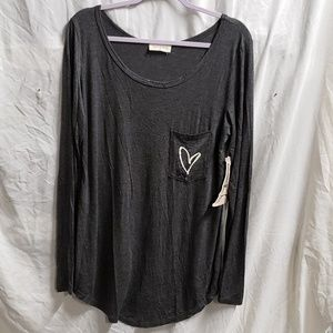 BNWT FRENCH PASTRY LONG SLEEVE TOP XLARGE